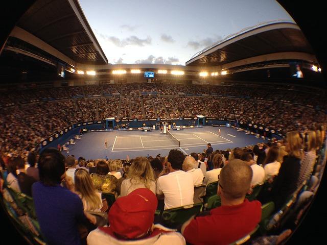 tennis australia open foto stadio